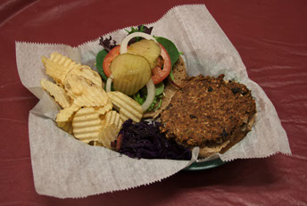 L3- Black Bean Veggie Burger